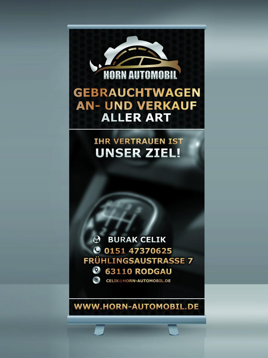 Horn Automobil Flyer Design