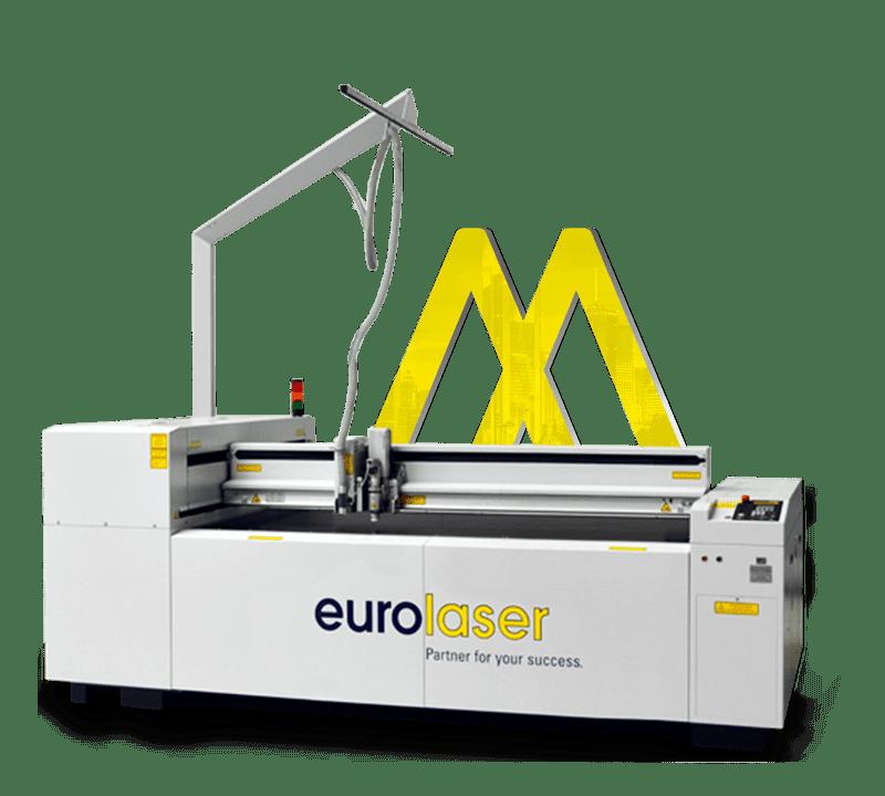 EUROLASER XL1200 Laserschnitt mit Triumph Logo